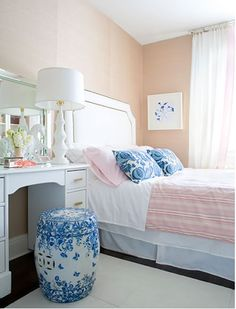 I am in love with Blue and White Willow patterns :-)