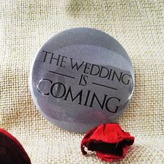 Insigna pentru petrecerea burlacitelor The wedding is coming Game, Mini, Wedding, Valentines Day Weddings, Venison, Weddings, Gaming, Mariage, Marriage
