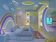 Cute Bedroom Ideas for Cuties. #bedroom #kids #kidsroom #kidsbedroom #teenbedroom #teenagerbedroom #girl #interiordesign #interior #interiordecor #room #roomdecor #roomideas