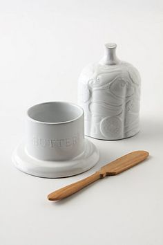 butter dish - i like the design on the lid