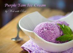 Ube Ice Cream http://wokwithray.net/wwr/2012/09/purple-yam-ice-cream-guest-posting-at-mjs-kitchen/ video/ http://www.youtube.com/watch?v=MbijrTbdhmI