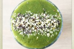 Green Superfood Detox Smoothie | One Green Planet
