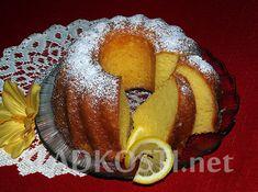 Citronová bábovka se zakysanou smetanou – Hančiny Sladkosti.net Pancakes, French Toast, Food And Drink, Treats, Breakfast, Sweet, Recipes, Lemon, Kuchen