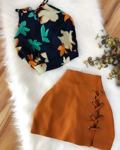 Cute Summer Outfits, Classy Outfits, Stylish Outfits, Fall Outfits, Cute Outfits, Teen Fashion Outfits, Cute Fashion, Girl Fashion, Teenager Outfits