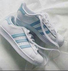 shoes adidas adidas superstars adidas originals light blue