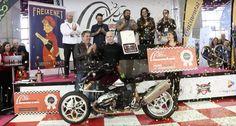 Ganadores del concurso de motos Motomadrid 2016
