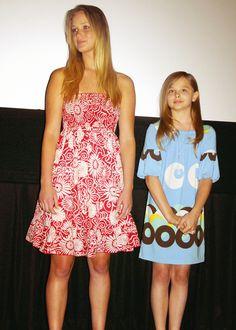 Jennifer Lawrence with Chloe Grace-Moretz