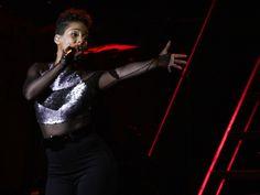 Alicia Keys se apresenta em São Paulo