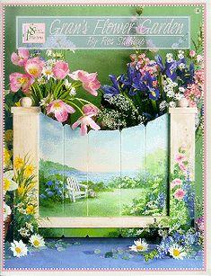 Gran's Flower Garden by Ros Stallcup