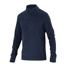 Ibex Scout Jura 12 Zip Top  Mens Midnight Heather Large *** To view further for this item, visit the image link.