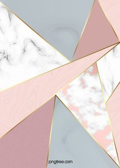 Rose Gold Geometric Edge And Corner Background Marble Iphone Wallpaper, Cute Wallpaper For Phone, Cute Patterns Wallpaper, Geometric Wallpaper, Aesthetic Iphone Wallpaper, Aesthetic Wallpapers, Geometric Decor, Geometric Lines, Geometric Background