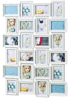 Bilderrahmen LUNA in 6 Farben 100x100 Weiß Poster Foto modern Wechselrahmen