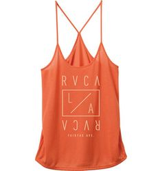 88183bae974 LA Depot Tank Top  26.00 The RVCA LA Depot is a jersey scoop neck tank top