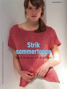 Hendes Verden - 24/06/2019 Crochet Tank, Knit Crochet, Knitting Patterns Free, Free Knitting, Drops Design, Spring Summer, T Shirts For Women, Pullover, Knits