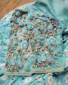 Hand Work Blouse Design, Simple Blouse Designs, Silk Saree Blouse Designs, Stylish Blouse Design, Bridal Blouse Designs, Hand Embroidery Design Patterns, Designer Blouse Patterns, Magam Work Designs, Lehenga