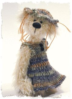 Handmade Collectible Teddy Bears and Mice Handcrafted by Artists Jack & Marion