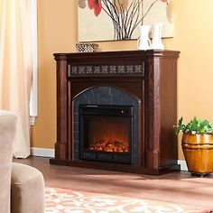 Small Electric Fireplace U2013 Reasons Of Choosing Electric One    Https://midcityeast.com/small Electric Fireplace Reasons Of Choosing  Electric One/ | Pinterest ...