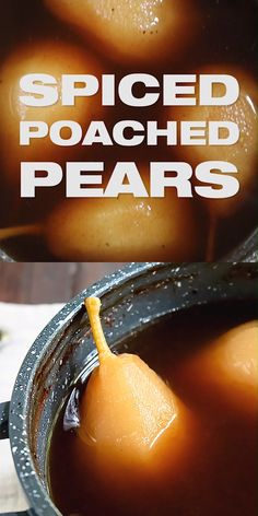 5 Poached Pears 5 Spice Poached Pears – How to Poach Pears, Easy dessert poached pears, spiced dessert, fall recipe,. Pear Recipes Videos, Pear Recipes Easy, Pear Dessert Recipes, Fruit Recipes, Fall Recipes, Food Videos, Dessert Food, Poached Pears Recipe Easy, Stewed Pears Recipe