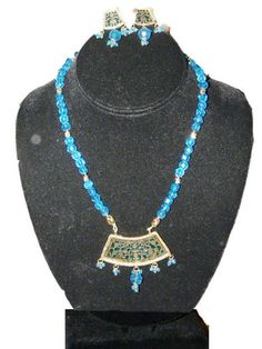 Gold Plated Pendant Turquoise Blue Beads Jewelry Thewa Necklace Set Mogul Interior,http://www.amazon.com/dp/B00841EPVC/ref=cm_sw_r_pi_dp_5iI4rb04SF9X8AHA