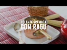 Polenta cremosa com ragu   Receitas Saudáveis - Lucilia Diniz - YouTube