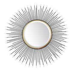 Found it at Wayfair.co.uk - New Riad Porcupine Sunburst Mirror