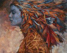 oil painting by Agnieszka Wencka , art, malarstwo