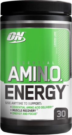 Essential AmiN.O. Energy Amino Acid Powder for Increased Energy* Train Longer and Harder with Intense Energy and Focus*