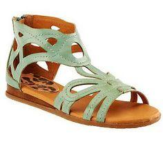 BareTraps Khiana Gladiator Sandals with Stitch Detail — QVC.com