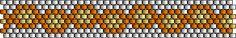 Ring-Blumen – Peyote Technik Muster