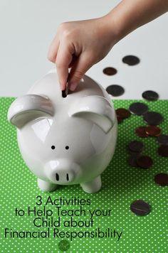 3 activities to help teach your child about financial responsibility