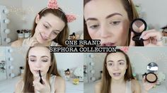Chatty Get Ready   Sephora Collection Makeup KathleenLights #sephora #makeup#tutorial #new #collection #spring #nude #lips #cute #look #fashion