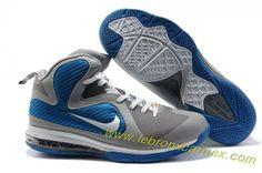 071606fa514c Nike Lebron 9 NBA Shoes China Editon Grey Blue Release Lebron 9