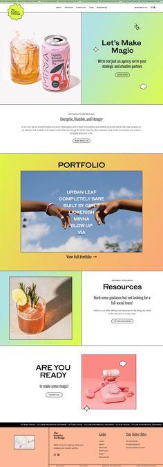 Portfolio Website Design, Website Design Layout, Design Blog, Design Agency Website, Portfolio Web Design, Web Design Agency, App Design, Website Design Inspiration, Banner Design Inspiration