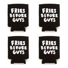 #singleandnotreadytomingle - fries before guys