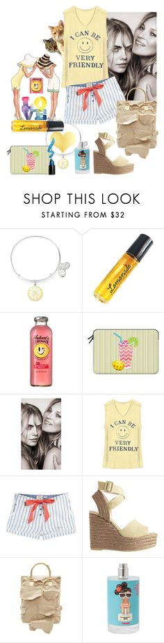 It's the kind of day I just wanna have fun, shopping fun in the sun by linda-caricofe on Polyvore featuring Junk Food Clothing, Fat Face, Castañer, Loewe, Alex and Ani, Casetify, Lime Crime, Burberry, I'm Fabulous and shorts