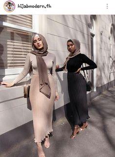 Hijab Fashion 748160556834180486 - New collection hijab style 2019 – Hijab Dress Design, Source by ddiyprojectsfr Modern Hijab Fashion, Street Hijab Fashion, Hijab Fashion Inspiration, Muslim Fashion, Mode Inspiration, Look Fashion, Girl Fashion, Fashion Ideas, Modest Fashion Hijab