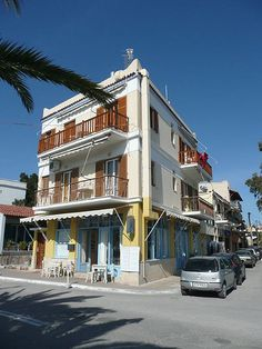 Aegina, Greece Greece Islands, Mediterranean Sea, Athens, Places Ive Been, Street View, Europe, Holidays, Mansions, House Styles
