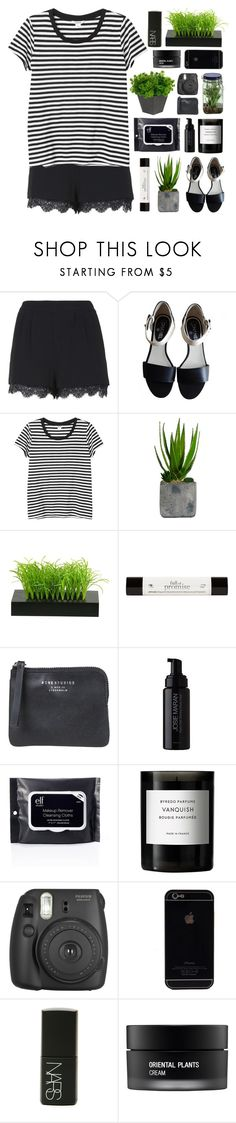 """""""and yes, you just run to him"""" by acquiescence ❤ liked on Polyvore featuring Topshop, Chanel, Monki, Laura Ashley, philosophy, Acne Studios, Josie Maran, Byredo, Fujifilm and NARS Cosmetics"""