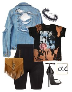 """""""Untitled #52"""" by clynnstyle on Polyvore featuring High Heels Suicide, Zhenzi, Yves Saint Laurent and DANNIJO"""