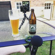 This weekend has been something of a heat wave in Denmark. Inspired by the beautiful weather I took my show on the road (to the garden) and did some filming outside. Weird wheat beers and sunshine...that's what you will find on my channel. Oh and homebrew stuff. Link on my profile. #craftbeer #beergeek #brewtube #weirdweisse