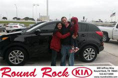 Congratulations to Pablo Reyes on your #Kia #Sportage purchase from Sean Knox at Round Rock Kia! #NewCar