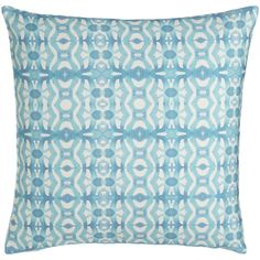 Bunglo Buenos Aires European Pillow (€135) ❤ liked on Polyvore featuring home, home decor, throw pillows, ocean blue, european home decor, euro throw pillows, inspirational home decor and inspirational throw pillows