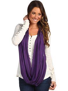 6pm || CHRISTIN MICHAELS Angelisa Infinity Scarf || #6amto6pm #christinmichaels #scarf