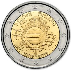 Finlandia decennale euro