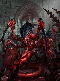 Tyranid Raveners - Warhammer 40K:Emperor's Chosen by jubjubjedi.deviantart.com on @deviantART