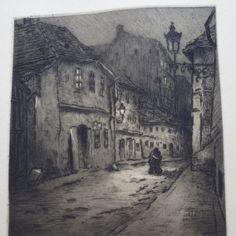 Zdenka Braunerová – Milenci v noční Praze