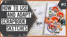 Scrapbooking Sketch Support is a monthly series that shows how to use and adapt scrapbook sketches to fit your needs. Learning how to use sketches can create. Handmade Scrapbook, Scrapbook Designs, Scrapbook Sketches, Diy Scrapbook, Scrapbooking Layouts, Scrapbook Pages, Alphabet Stickers, Star Stickers, Bucket List Quotes