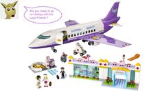 Lego Friends City Airport set 41109 Review