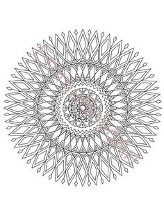 coloriage d un mandala attrape r 234 ve filet hugolescargot