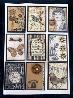 Vintage style Pocket letter